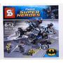 Batman Vs Comisionado James Gordon Helicóptero Mini Figuras