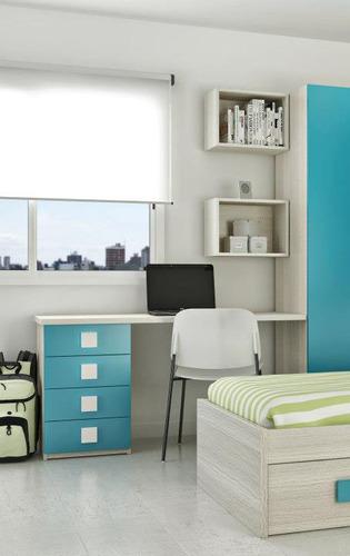 escritorio infantil laqueado muebles infantiles 5535