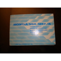 Honda Nsr 125 Manual Original De Usuario
