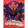 Frazada Microfibra Coral Spider Man Hombre Araña 1 Y 1/2 Pla
