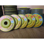 Pack 10 Disco Flap Pulir Vidrio Marmol Granito 115mm 400gr