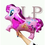 10 Globos Metalizados My Little Pony Pequeño Pony Gigantes