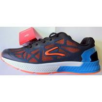 Zapatillas Dunlop Running Caminata Gym Hombre Livianas Moder