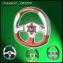 Volante Naonis San Marino Rojo/plata