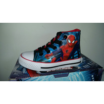 Zapatilla Botita Spiderman Atomik