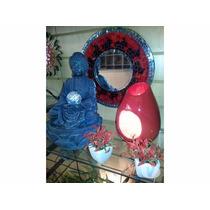 Fuente De Mujer Buda De Resina 30cm De Altura Cordoba Capita