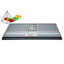 Consola De Sonido 32 Canales Audiolab Alm-2432 + Flightcase