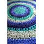 Alfombras De Totora Tejidas Al Crochet Envío Gratis !!
