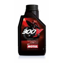 Aceite Motul 300v Full Sintetico 15w50 4t Top Racing