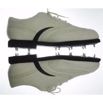 Excelentes Zapatillas Nike Golf Vintage-cuero-42-impecable