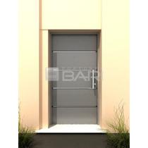 Puerta Bari-modelo Loftplata-de 0,80 Doble Chapa Iny-18-