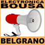 Novik Nk 55s Megafono 25w C/ Sirena Alcance 600 Mt Belgrano