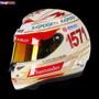 Casco Automovilismo Competicion Fernando Alonso 2013 India