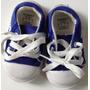 Zapatillas P/nene Cheeky Talle 18 Azules 12,5cm