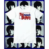 Reptilia Remeras Rock The Beatles (código 04)