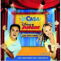 Cd La Casa De Disney Junior Con Topa Y Muni Open Music