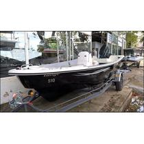Pescador 510 Tracker Consola Central Ideal Laguna Con Motor