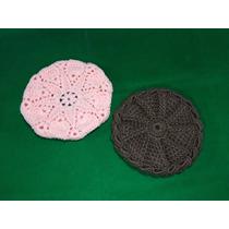 Boina De Lana Tejido A Mano Al Crochet