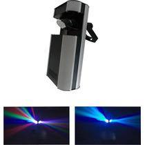 Scanner Doble De Led Rgb Audioritmico Dmx - La Roca -