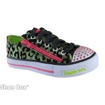 Zapatillas Niñas Y Niños Con Luces Y Colores !! Skechers !!!
