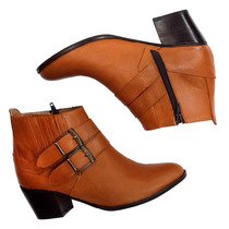 Botas De Mujer Borcegos Zapatos Calzado Urbano Dia