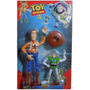 Toy Story Set De Woody C/luz Y Sonido + Buzz Lightyear