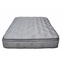 Colchon Super Reforzado Pillow Desmontable Doa Plazas Y Medi