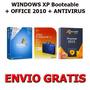 Windows Xp + Office 2010 + Antivirus (3 Dvds) + Envio Gratis
