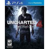 Uncharted 4 Ps4 Playstation 4 Desenlace Del Ladrón *fisico*