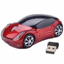 Mouse Inhalambrico Usb Auto Deportivo 10 M 2,4ghz Congreso