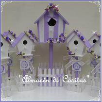 Casas De Pajaritos Decorada Souvenirs Cumpleaños