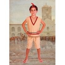 Disfraz De Indio Talles 1 Al 3