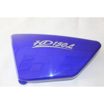 Cacha Lateral Izquierda Cubre Bateria Mondial Hd150l Azul