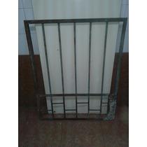 Puerta/porton Macizo De Hierro Cuadrado 0,80 Frente/1m Alto