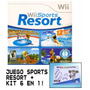 Juego Wii Sports Resort Fisico Original + Kit 6 En 1 Gratis!