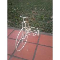 Bicicleta En Hierro Artesanal, Adorno