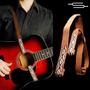 Correa Para Guitarra Criolla / Acustica Sujetador Doble Md