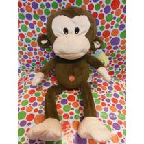 Peluche Mono Con Sonido
