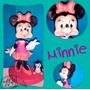 Minnie Y Mickey Adorno Torta En Porcelana Fria