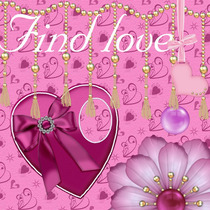 Kit Imprimible Find Love Impresionantes Elementos Y Papeles