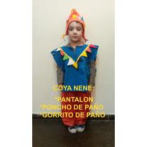 Disfraz Coya Caballero Dama Antigua Paisana Negrita Gaucho