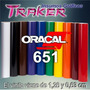 Vinilos Oracal 651 1x63cm Ploteos Vehicular Traker Insumos