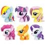 My Little Pony Fashems Twilight Pinkie Rainbown X 6 Original