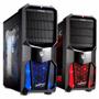 Gabinete Noganet Gamer Extrem + Cooler Con Led Ng-cp626 Usb