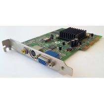 Placa De Video Nvidia Tnt2 M64 32mb Agp | Xfx Aopen Compaq