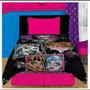 Frazadas + Sabanas Infantiles Barbie Stars Wars Monster High