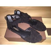 Louis Vuitton Sandalias Negras Modelo 2014