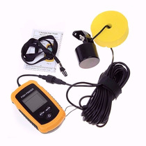 Ecosonda De Pesca Fish Finder Portatil Sonar De Pesca