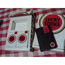 Cigarrera Lucky Strike En Estuche + 4 Box -