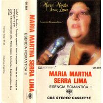 Maria Martha Serra Lima Esencia Romantica 2 - Cassette